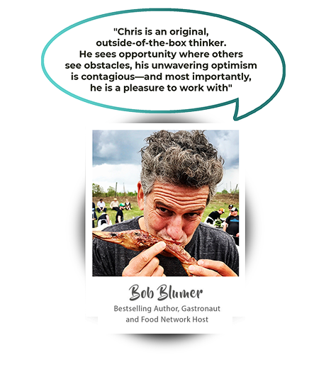 Bob Blumer - Bestselling author, Gastronaut and Food Network Host