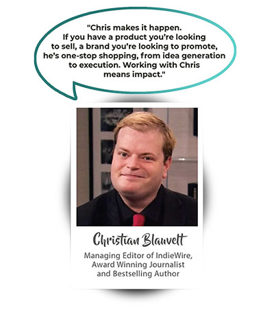 Christian Blauvelt - Managing Editor of IndieWire and Bestselling Author