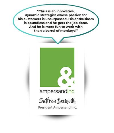 Saffron Beckwith - President Ampersand Inc.