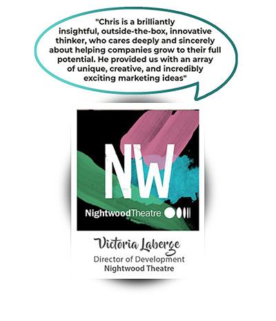 Victoria Laberge - Director of Development Nightwood Theatre